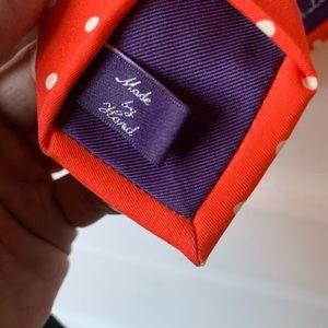 Ralph Lauren Purple Label handmade tie
